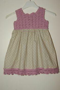 Crochet babydress(Dalekjole). More on my blog: camslykke.blogspot.no :)
