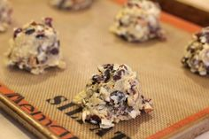 Easy Cookie Recipes - Chocolate Chip Cookies with Almonds, Cranberries and Coconut