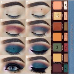 52 Schritt fr Schritt natrliches Augen-Make-up fr Anfnger – – Beauté Idées de Maquillage – Natural Eye Makeup Step By Step, Eye Makeup Steps, Simple Eye Makeup, Easy Makeup, Natural Makeup, Minimal Makeup, Make Up Palette, Skin Makeup, Eyeshadow Makeup