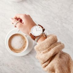time for a coffee break! Beautiful pic by @jimsandkittys with her timeless watch | kapten-son.com