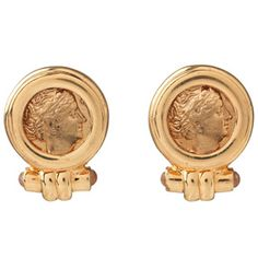 Roman Empress Coin Earrings, Pierced - Earrings - Jewelry - The Met Store