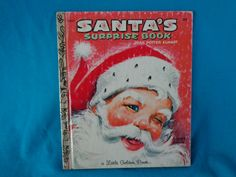vintage 1981 Little Golden Book Santa's Surprise Book by Joan Potter Elwart by TheVintageKeepers on Etsy