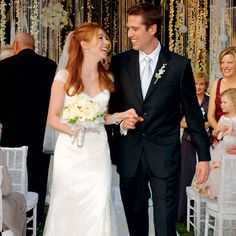 On October 11, 2003, Alyson Hannigan married Alexis Denisof.  It was a match made in Sunnydale.