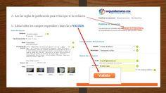 ejemplo de como publicar