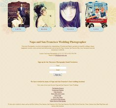 Website Layout Tips for Photographers, Tinywater Photography
