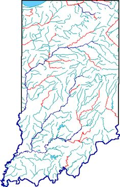 Indiana Map Regional Road Trips And Weekend Trips - Indiana rivers map