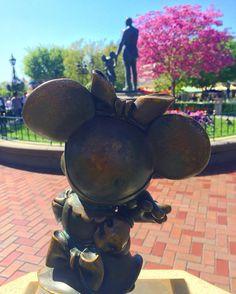 I love springtime here! #Disneyland by snowy_snowbear