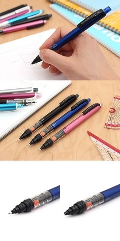 The Kuru Toga features a lead-rotating mechanism that keeps lead sharp! Combine that with a sliding lead sleeve, and you've got a perfect pencil for school. Cool Stationary, Stationary Items, Stationary Supplies, Pencil Tool, College Packing, School Supplies, Art Supplies, Jet Pens, White Pen