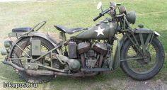 Подборка фотографий военных мотоциклов