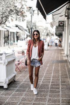 Blazer Terracotta - JUNE Sixty-Five - Blog Mode