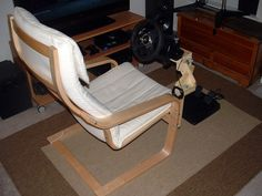 Great DYI solution for race gaming