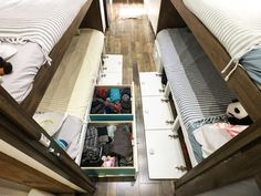 Airstream Renovation,  Airstream Storage, Simplify, Organizational Ideas