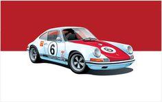 Porsche 911S (by Arthur Schening)