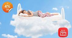 Schlafwelt, Matratze,  Bett, Lattenrost, Decke, Bettwäsche, Möbel, Gutschein, Rabatt, Bonus, Sale, Cashback, weeconomy, wee