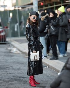 Live From New York, It's Fashion Week Street Style!