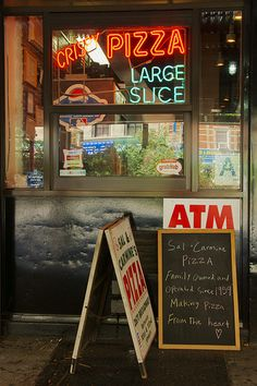 NYC restaurant signs are often personal, even emotional