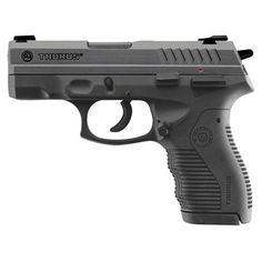 Taurus Model 809 Compact Semi Automatic Handgun 9mm 3.5 Barrel 12 Rounds Black Polymer Frame Blued Finish