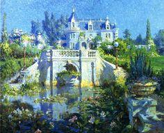 Colin Campbell Cooper - A California Water Garden at Redlands