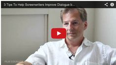3 Tips To Help #Screenwriters Improve Dialogue by  #Sharknado's Thunder Levin via http://Filmcourage.com.  More video interviews at https://www.youtube.com/user/filmcourage   #filmandtelevision #screenwriter #entertainmentindustry  #film #writing