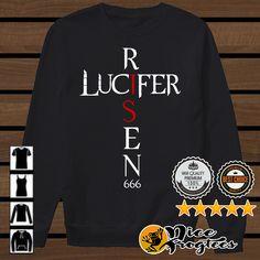 Lucifer Risen 666 shirt