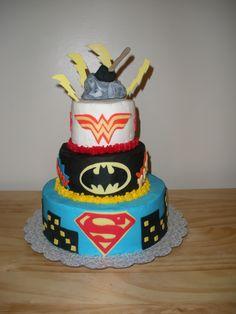 wonder+woman+cake | Superman batman wonder woman and Thor - Cake Decorating Community ...