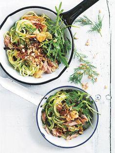 zucchini chilli tuna pasta