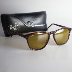 42554107938 Vintage Ray Ban B L USA CHROMAX TRADITIONALS STYLE 1 Sunglasses driving  wayfarer  fashion  clothing  shoes  accessories  mensaccessories ...