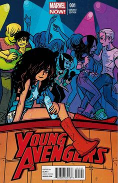 Young Avengers is just plain fun and you should read it for the hilarious snark and terrifying villain.