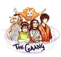 The Gaang by cryoclaire on deviantART