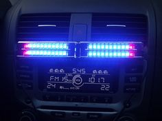Entertain the kids during a night ride with these sound controlled music lights!