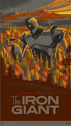 Iron Giant Print