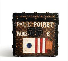 Vintage Paul Poiret Louis Vuitton Trunk