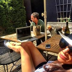 When Uncle Markus comes over - bearing rosé, to brush Bogart, and enjoy the sun. Love you @anderson_markus - Thank you for all of it. #adoptdontshop Meghan markle #meghanmarkle