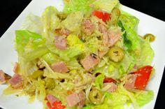4059 Salad - a bunch of goodies with Cuban vinaigrette.