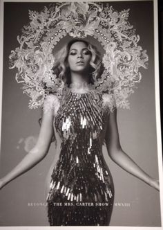 Beyonce Mrs Carter World Tour Book