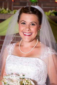 Such a beautiful bride!! #wedding #weddingphotography | Photo by Bethany Mills Photography in Gas City, Indiana | Bethanymillsphotography.com