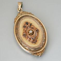 Etruscan locket