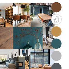 Cozy Living, Living Room Sets, Living Room Modern, Apartment Interior Design, Interior Design Living Room, Living Room Designs, Green Color Pallete, Interior Design Presentation, House Color Schemes