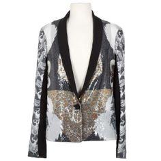 Clover Canyon Sequin Swan jacket- $595 @ luxagogo.com
