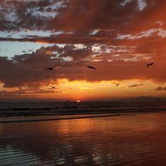 sunset at sunset beach