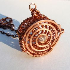 Copper Net Locket | Flickr - Photo Sharing!