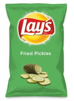 Wouldn't Fried Pickles be yummy as a chip? Lay's Do Us A Flavor is back, and the search is on for the yummiest flavor idea. Create a flavor, choose a chip and you could win $1 million! https://www.dousaflavor.com See Rules.