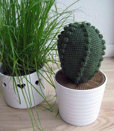 hæklet kaktus