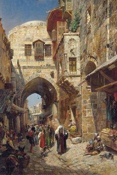 King David Street, Jerusalem, Israel.