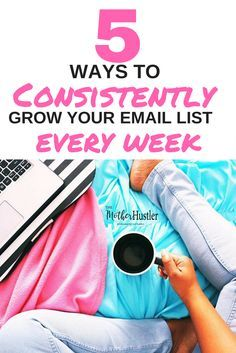 Tips to grow your email list, plan your newsletters, create opt-in freebies and lead magnets, email campaigns, and make the most of your email marketing as a blogger or business owner.