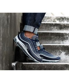 new styles 06a37 0ad4d nike air max 97 blue - enjoy off on geniune nike air max 97 silver bullet,  gold, black trainers   shoes for mens and womens, free delivery of each  order.