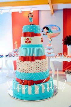 Wizard of Oz CAKE! Found via Kara's Party Ideas | KarasPartyIdeas.com #wizard #Oz #party #ideas #decorations #supplies #cake