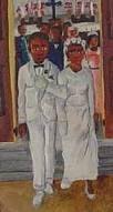 Haitian wedding #art #Haiti