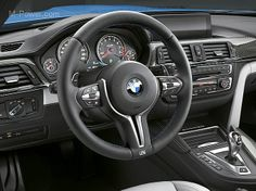 BMW M4 Interior Design