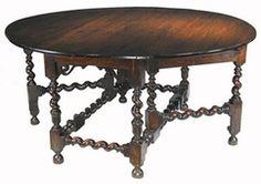 Jacobean Gateleg Table